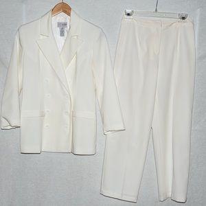 White suits, size 2P